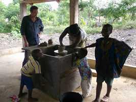 poterie en afrique